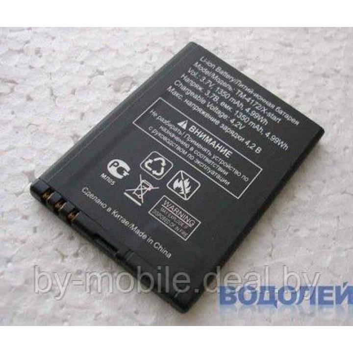 АКБ (Аккумуляторная батарея) для телефона TeXet TM-D305 (BL-4S)