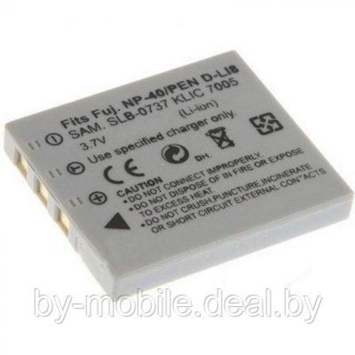 АКБ (Аккумуляторная батарея) для фотоаппаратов Samsung SLB-0737