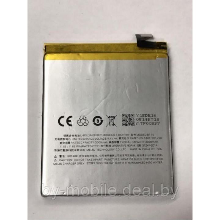 АКБ (Аккумуляторная батарея ) для телефона Meizu M3 mini (BT15)