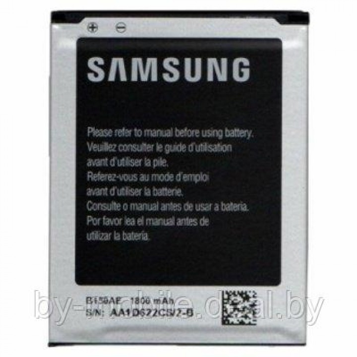 АКБ (Аккумуляторная батарея) для телефона samsung i8262(B150AE)