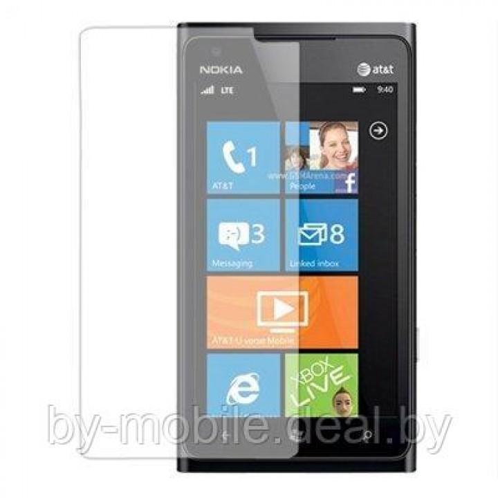 Защитная пленка для Nokia Lumia 900 ( матовая , антибликовая )