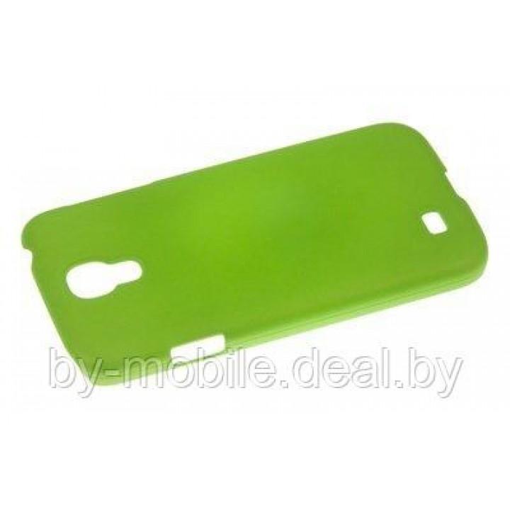 Задняя накладка ACTIV Fluorescent для Samsung i9500 Galaxy S IV (зелёный)