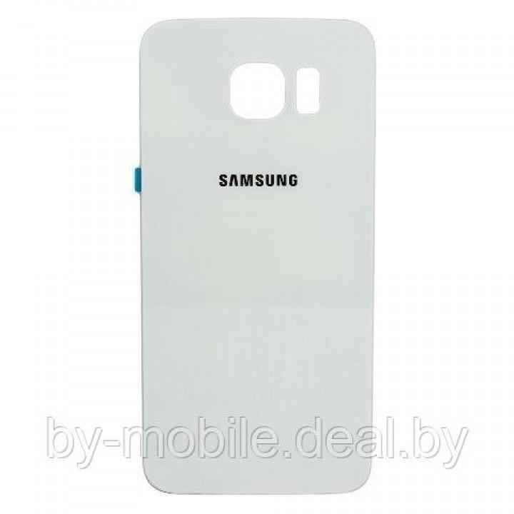 Задняя крышка (стекло) для Samsung Galaxy s6 Edge plus + G928F белая