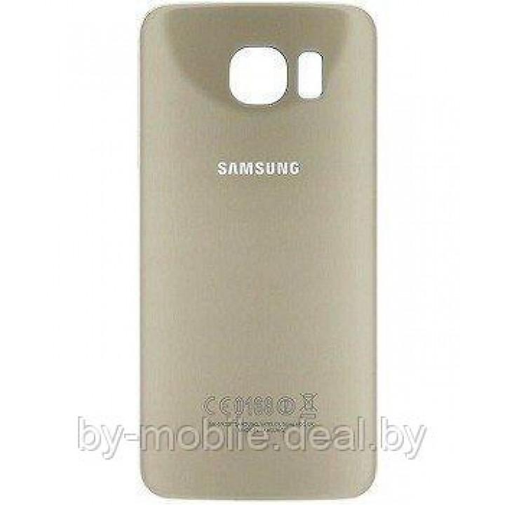 Задняя крышка (стекло) для Samsung Galaxy s6 Edge plus + G928F серебренная