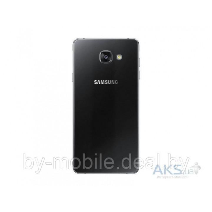 Задняя крышка (стекло) для Samsung Galaxy A7 (2016) A710F чёрная