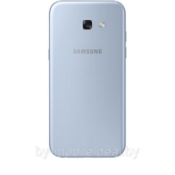 Задняя крышка (стекло) для Samsung Galaxy A5 (2017) A520F голубой