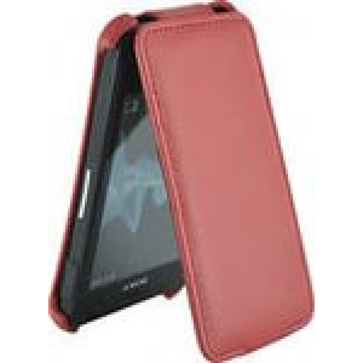 Чехол футляр-книга ACTIV Flip Leather для Sony Xperia Go ST27i (красный)