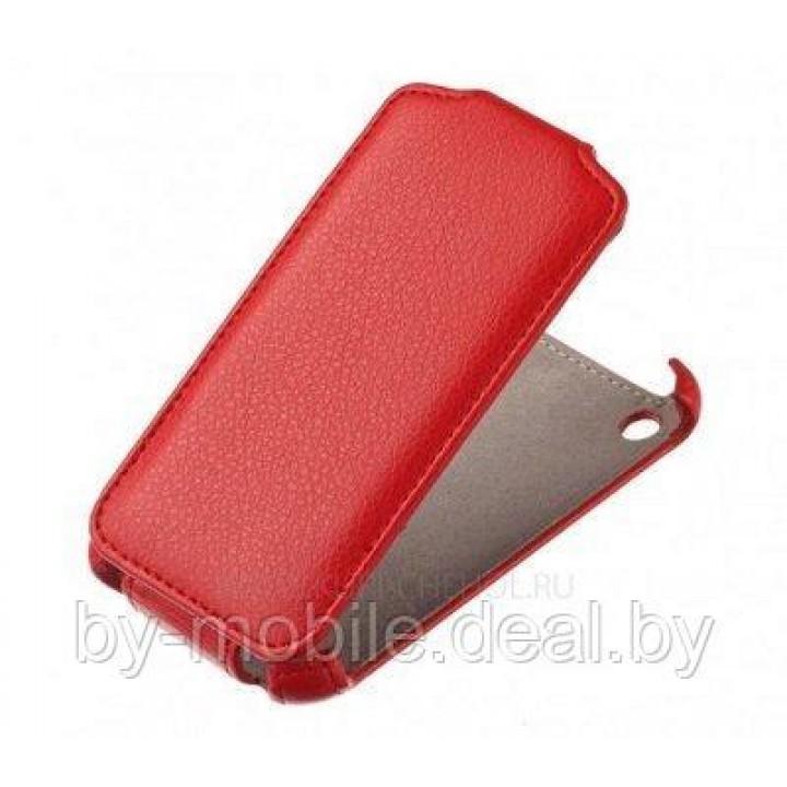 Чехол футляр-книга ACTIV Flip Leather для Apple iPhone 6 Plus (красный) (A300-01)