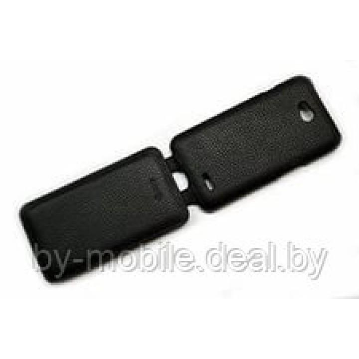 Чехол футляр-книга ACTIV Flip Leather для LG L70 D325 (чёрный)