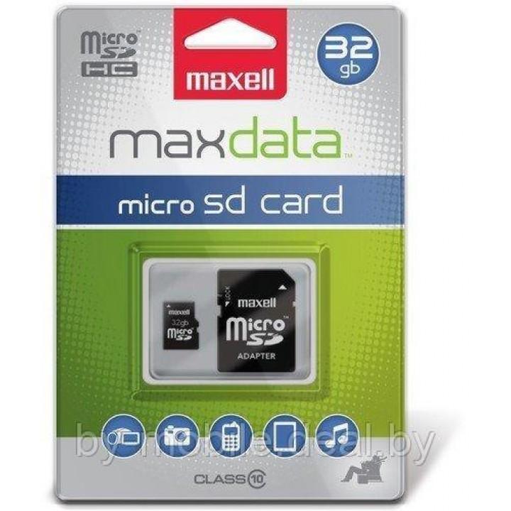 Карта памяти MAXELL micro-sd (10-class) 32GB
