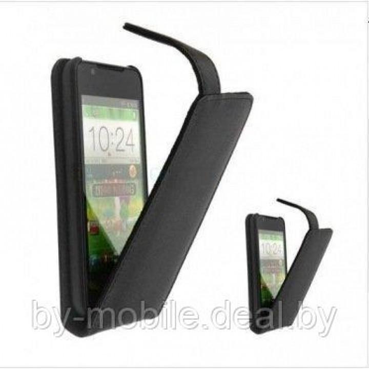 Флип-чехол для Lenovo K900 чёрный