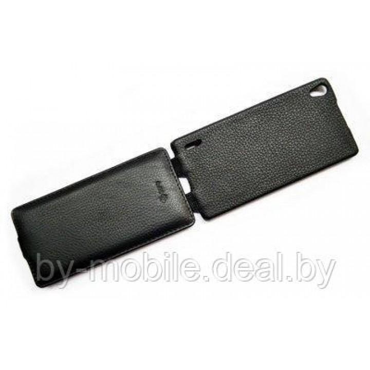 Чехол футляр-книга ACTIV Flip Leather для Huawei Ascend P7 (чёрный)