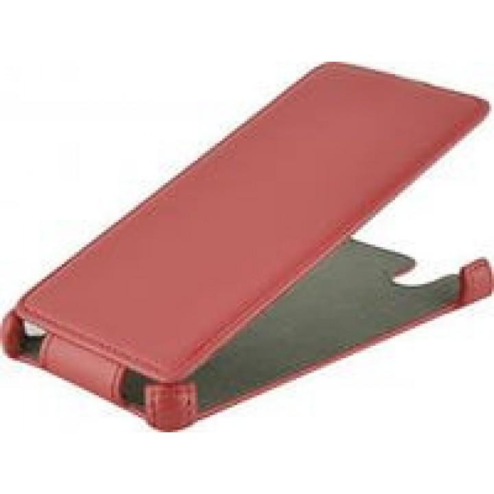 Чехол футляр-книга ACTIV Flip Leather для Sony Xperia Z L36h (красный)