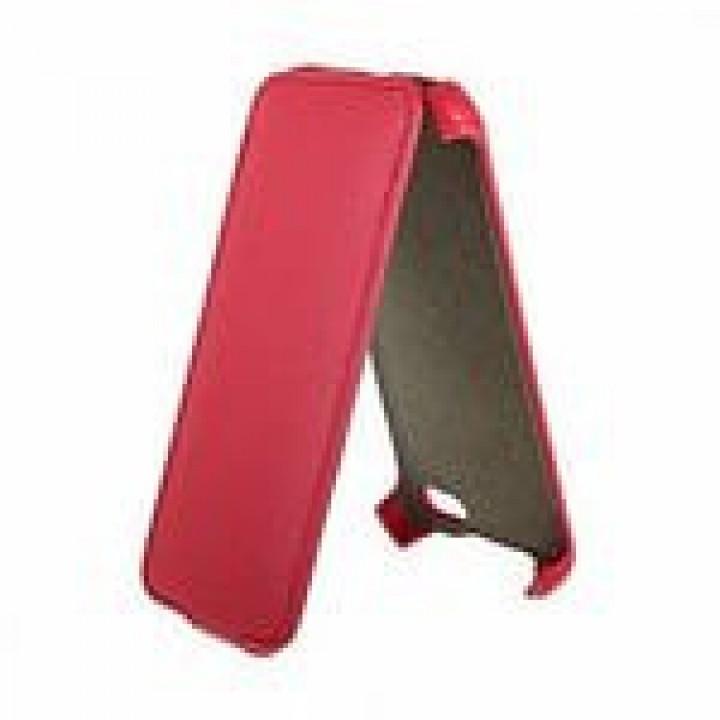 Чехол футляр-книга ACTIV Flip Leather для Apple iPhone 5C (красный)
