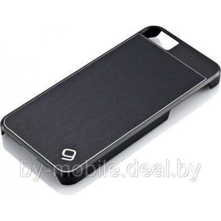 Чехол Gear4 Guardian for iPhone 5/5s (черный, металлический)