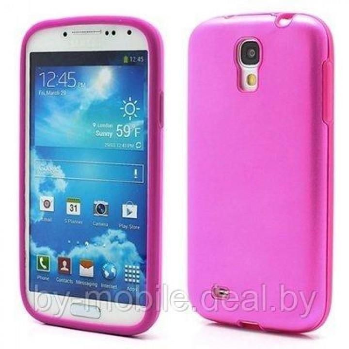 Силиконовый чехол для Huawei Ascend Y210D/Y210 розовый