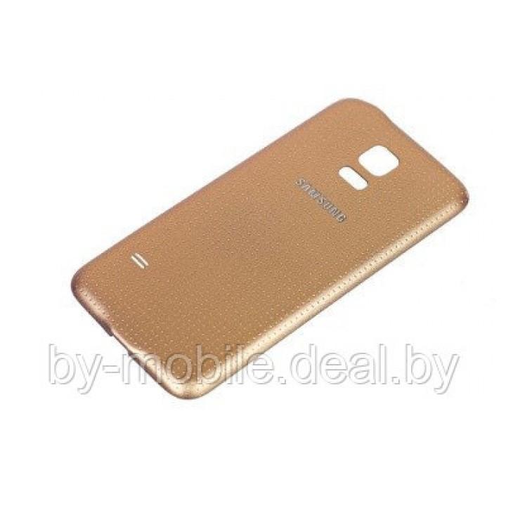 Задняя крышка для Samsung Galaxy S5 (SM-G900F) золотой
