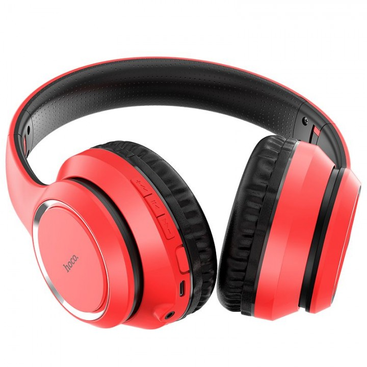 стерео Bluetooth гарнитура Hoco W28 (красный)