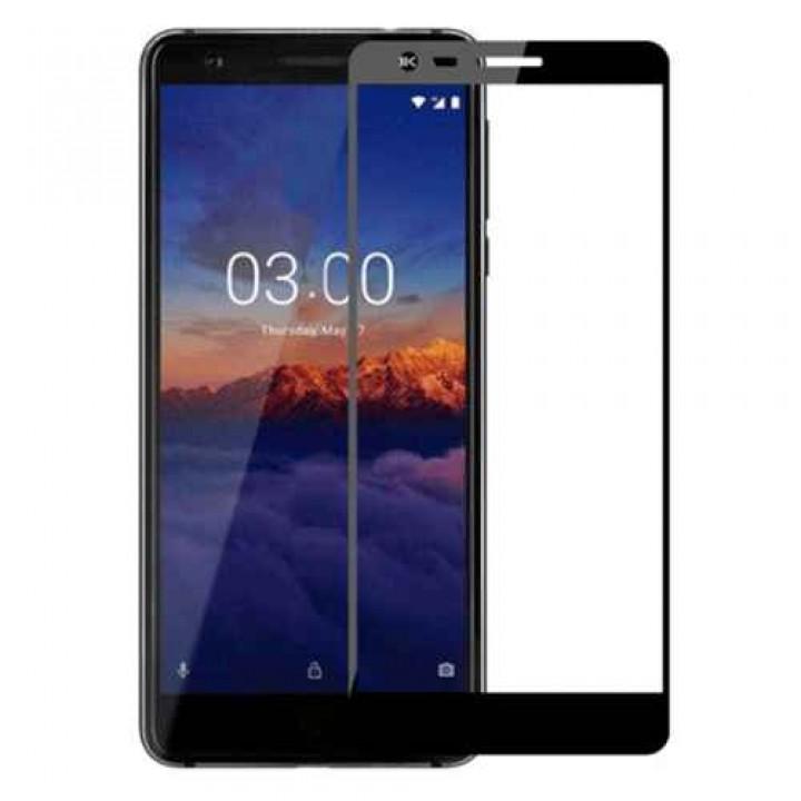 Защитное стекло Nokia 3.1 5D черный