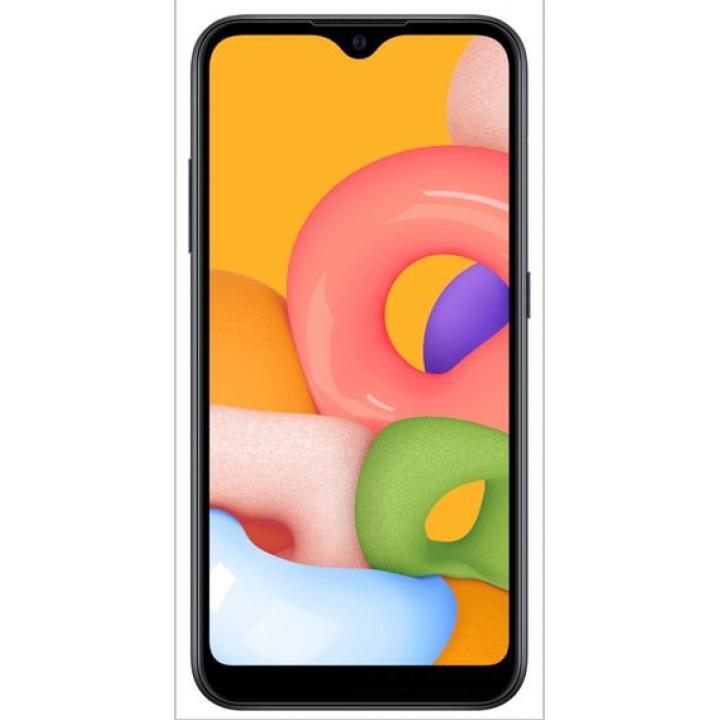 Защитное стекло Samsung Galaxy A01 SM-A015F (черный) 5D