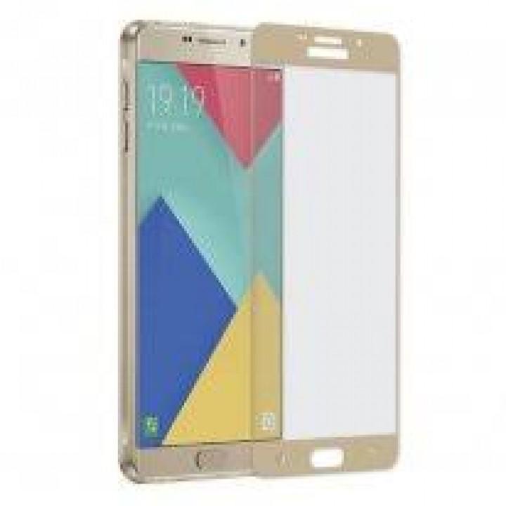 Защитное стекло Samsung Galaxy A5 2016 (A510F) золотой 5D