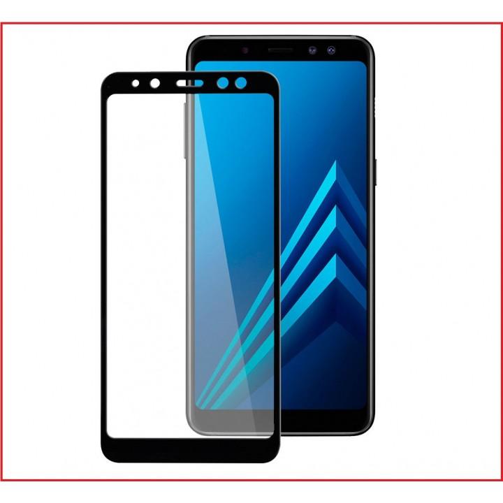 Защитное стекло Samsung Galaxy A8s 2018 черный 5D