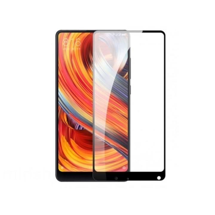 Защитное стекло Xiaomi Mi Mix 2 5D черный