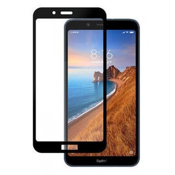 Защитное стекло Xiaomi Redmi 6, 6A (черный) 5d